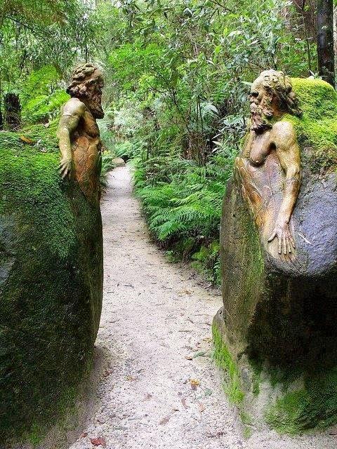 William Ricketts Sanctuary in Melbourne Australia