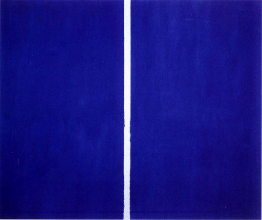 Pinturas de Barnett Newman!
