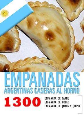 Empanadas de carne argentinas - omit meat
