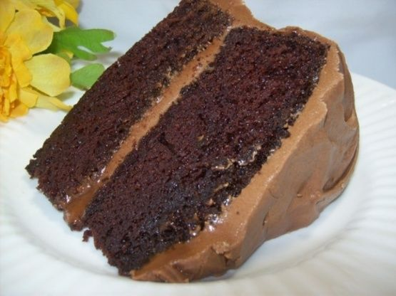 Hersheys Chocolate Cake With Frosting Recipe - Food.com