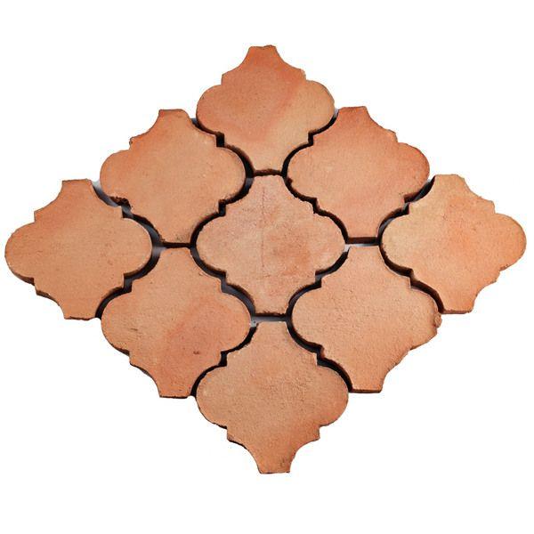 SomerTile 6x6-inch Tres Valles Morocco Spanish Terra Cotta Paving Tile (Pack of 6)