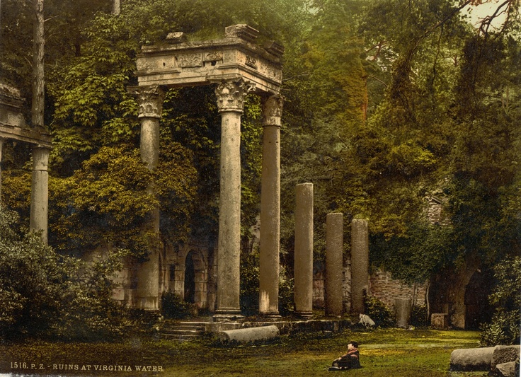 The Roman Ruins, Windsor, UKGoogle Image, Romans Ruins, British Museum, Beautiful Landscapes, Abandoned Beautiful, Abandoned Ruins, Abandoned Virginia, Virginia Water, Abandoned Places