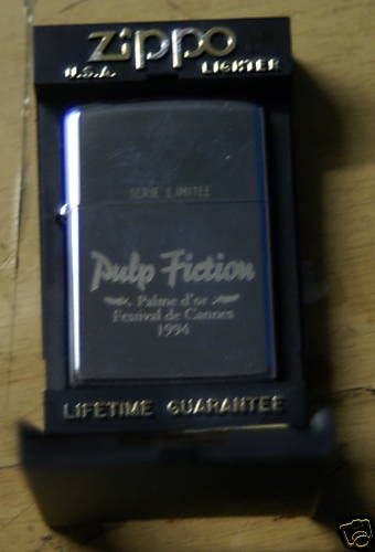 Lithium Ion Battery >> Pulp Fiction Cannes Zippo | Zippo & Other Lighters | Pinterest | Cannes, Fiction and Pulp fiction