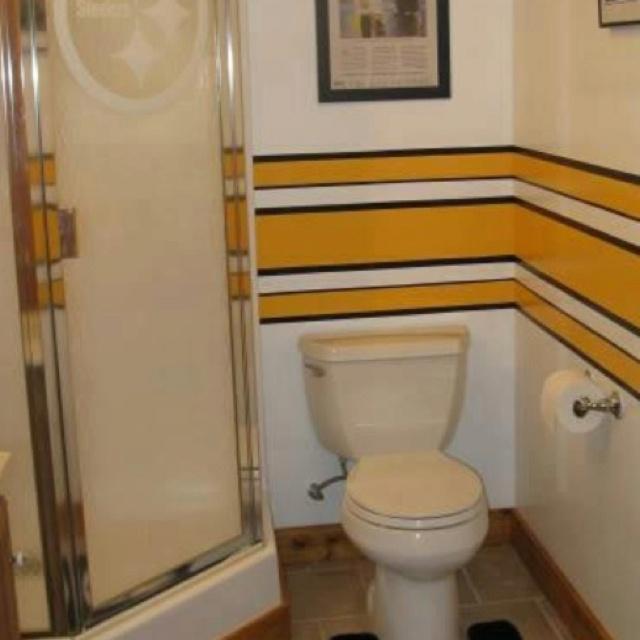 Steelers bathroom stuff