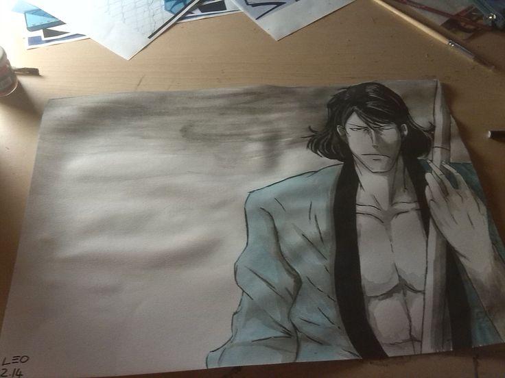 goemon ishikawa tempera su carta