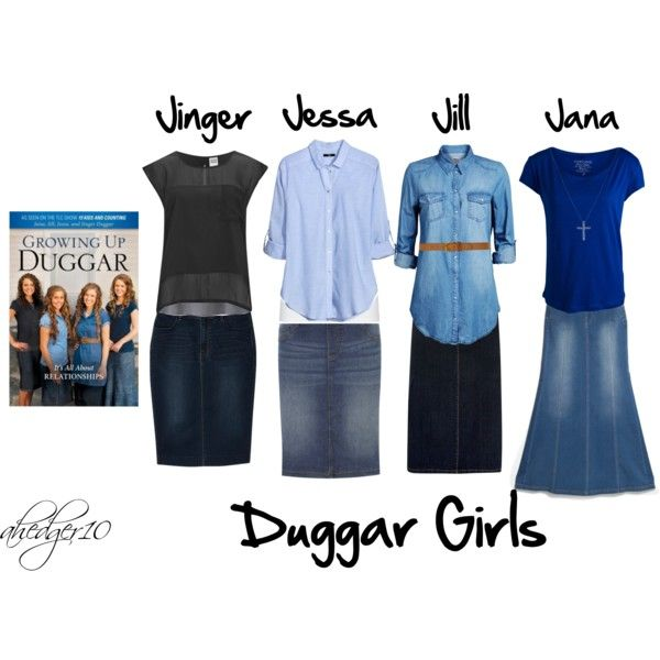 Duggar Girls by ahedger10 on Polyvore featuring H&M, Jack & Jones, Vero Moda, Pieces, Uniqlo, American Vintage, MANGO, Dorothy Perkins, Evans and Nadri