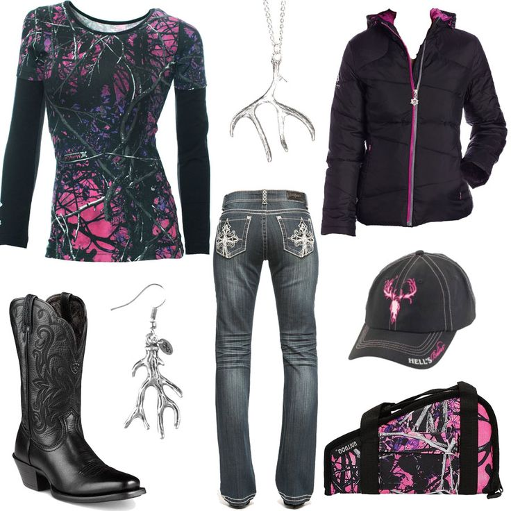 Muddy Girl Camo Outfit - Real Country Ladies