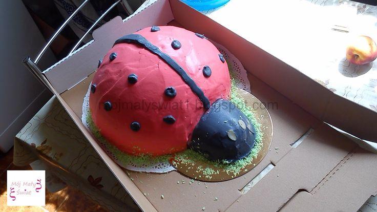 Tort Biedronka nr 2 - Mama-Kreatywna