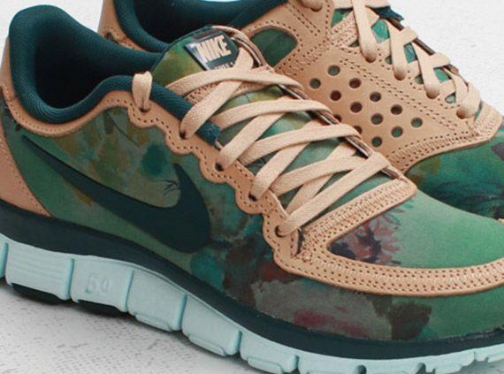buy online 637e9 e9588 Liberty x Nike WMNS Free 5.0 V4 Denise Eva Green