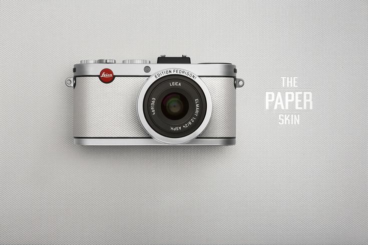 Limited Edition Paper Skin Leica Camera