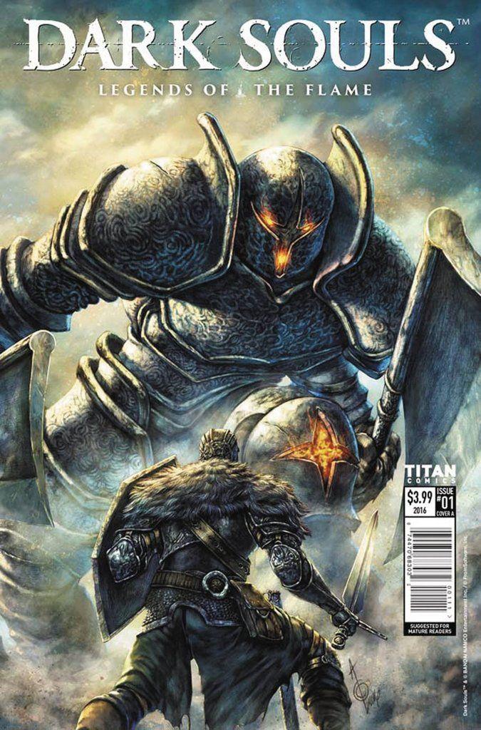 Dark Souls Legends Of The Flame #1 (Of 2) Cvr A Quah
