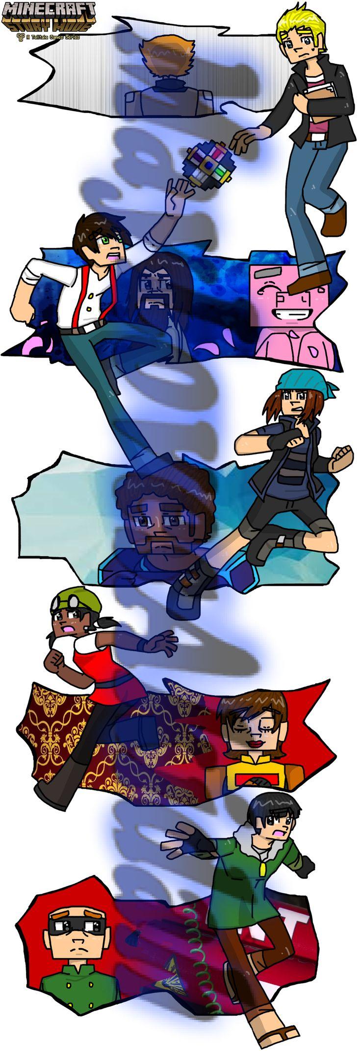 Minecraft story mode #14 by MaylovesAkidah on DeviantArt
