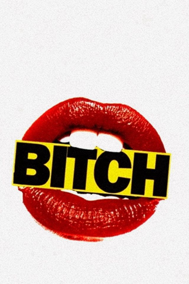 Bitch Lips Sign #iPhone #4s #wallpaper