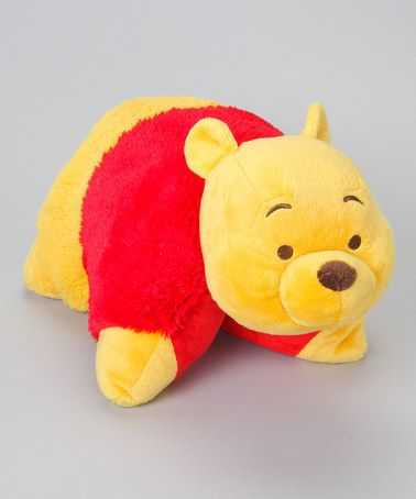 Take a look at this Winnie the Pooh Pillow Pet by Winnie the Pooh on #zulily today! $15