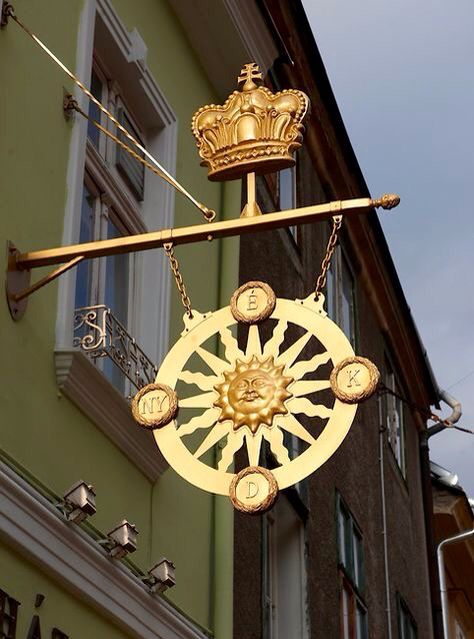 Locanda del sole, street sign (With images) Gyor