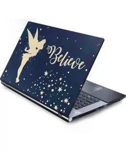 Tinker Bell Believe Laptop Skins