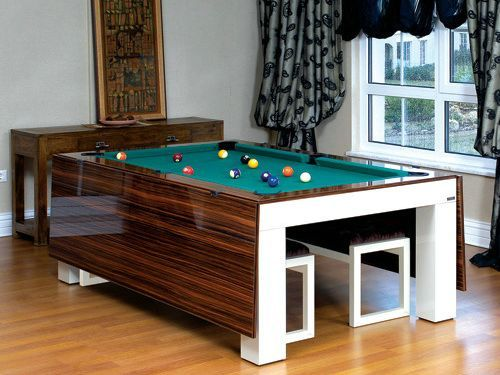 1000 images about pool table ideas on pinterest - Snooker table dining table combination ...