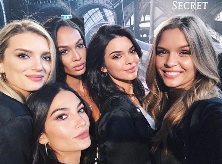 fuckyeahcelebs:    Lily Donaldson Lily Aldridge Jasmine Tookes Kendall Jenner and Josephine Skriver