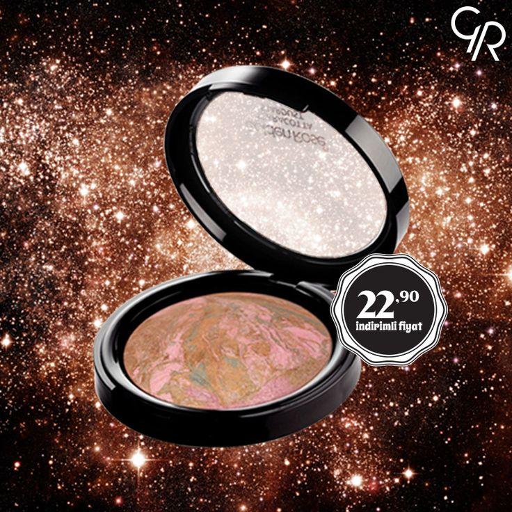 Gün boyu canlı ve parlak bir makyaja sahip olmak isteyenlerin vazgeçilmezi Terracotta Stardust şimdi Haziran indiriminde! http://goldenrosestore.com.tr/terracotta-stardust.html
