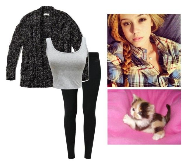 """""""ootd -lacey"""" by second-starr-to-the-right ❤ liked on Polyvore featuring NIKE and Abercrombie & Fitch"""