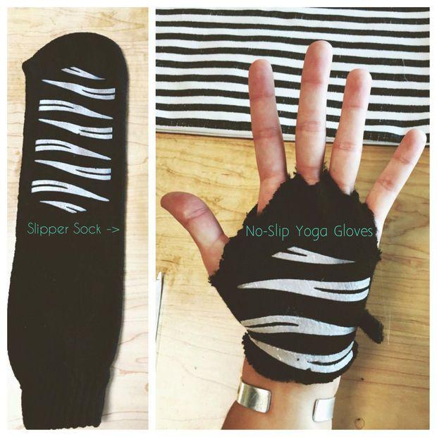 No-Slip Yoga Gloves