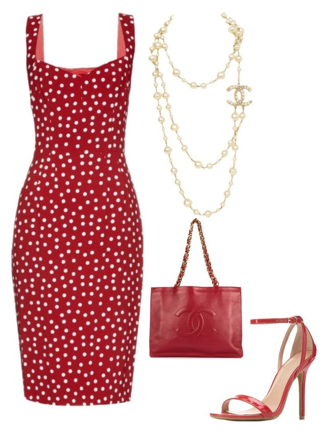 """""""Untitled #617"""" by mchlap on Polyvore featuring Dolce&Gabbana, Charlotte Russe and Chanel"""