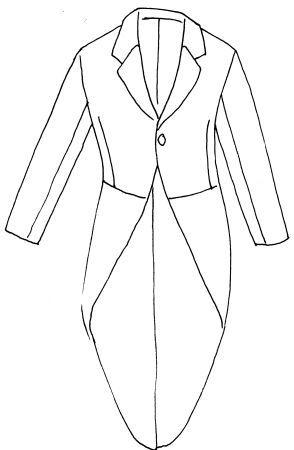 """Tight. Tipologia di completo maschile da cerimonia o per occasioni mondane che hanno luogo durante il giorno; con questa funzione, il c. si codifica nel corso degli anni '30 del XX secolo. Eseguito di solito in tessuto di colore grigio, oppure nero, é ancora in uso soprattutto per matrimoni. La caratteristica del completo é data dalla giacca di linea sfuggente sul davanti, con falde falda/faldina """"a coda di rondine"""" sul dietro."""