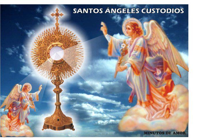 El Rincon de mi Espiritu: santos angeles custodios
