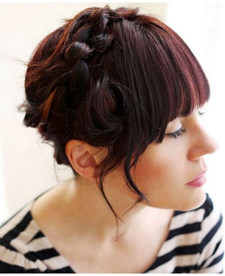 Best Tresses Images On Pinterest Braids Girl Hairstyles And - Diy hairstyle knotted milkmaid braid