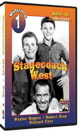 Old Western Television Shows | Stagecoach West DVD - 1960 - Classic Western TV Show