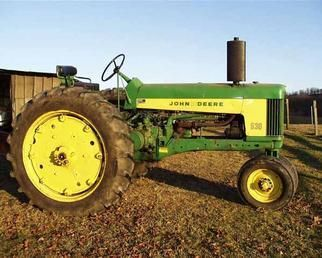 OLD JOHN DEERE TRACTORS FOR SALE