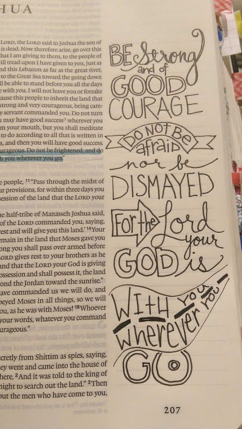 Hand Lettering and Bible Journaling | A Work of Heart