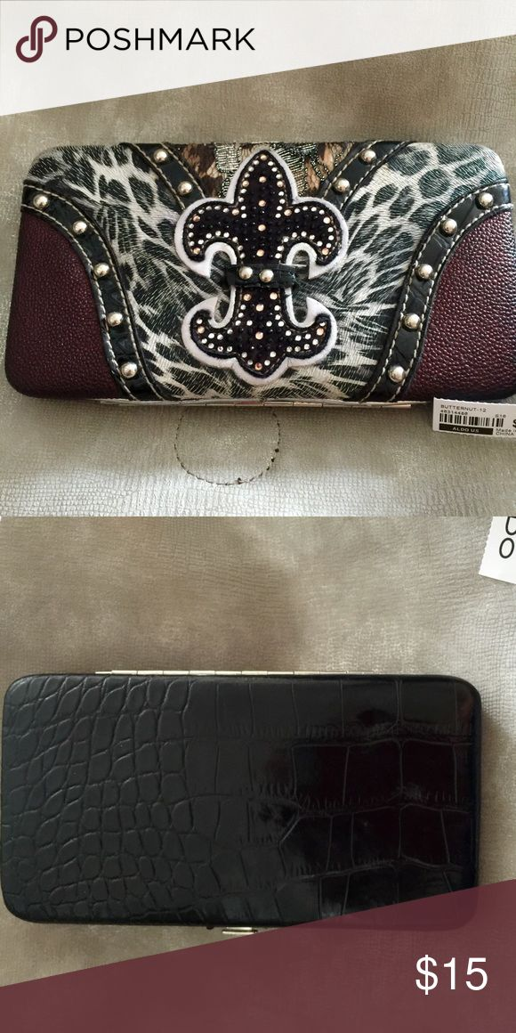MATCHING WALLET FOR ALDO BAG SELL SEPARATE LOVED THIS WALLET SELLING BECAUSE IT GOES SOOOOO GOOD W/ THE ALDO TOTE BAG Bags Wallets