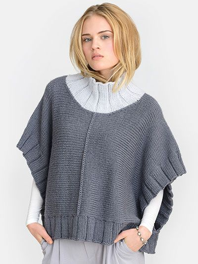 Double Knitting Patterns For Poncho : over 1000 ideer om Poncho Knitting Patterns pa Pinterest ...
