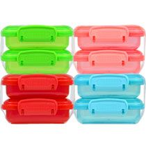 Bulk Small Plastic Storage Boxes with Clip-Lock Lids, 2-ct. Packs at DollarTree.com