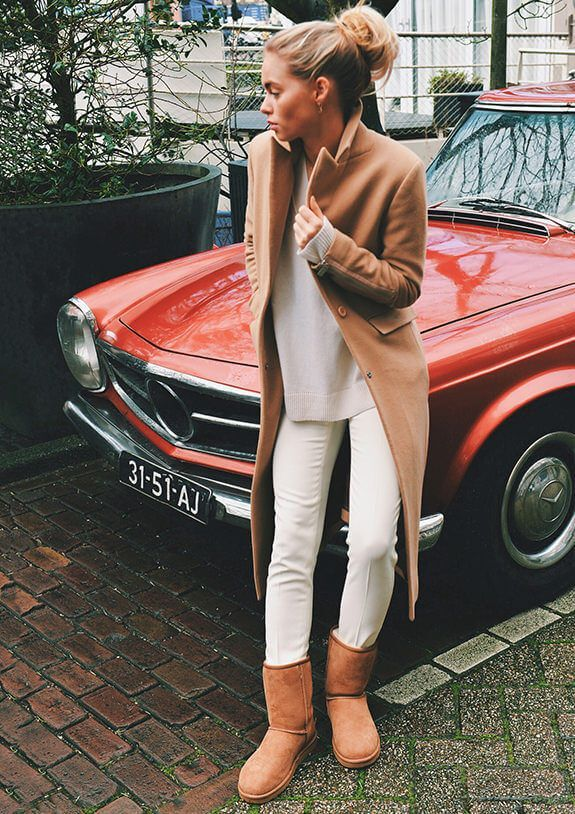 Outfit with ugg classic chestnut! #myCLASSICstyle