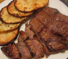 Oven grilled sirloin steak.Delicious and juicy sirloin steak cooked in Flavor Wave turbo oven.