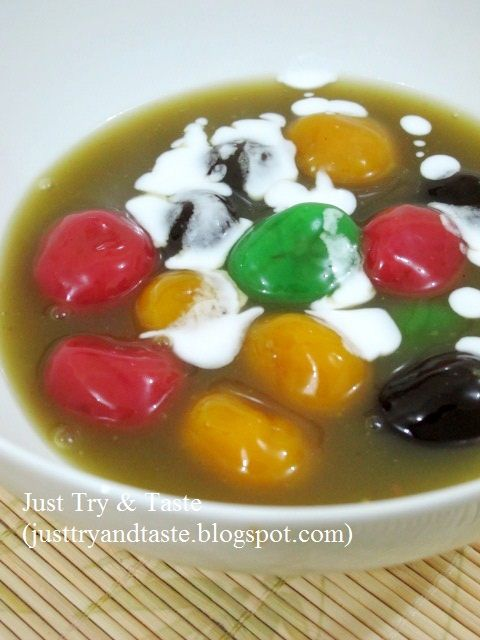 Bubur Candil Pelangi | Just Try & Taste