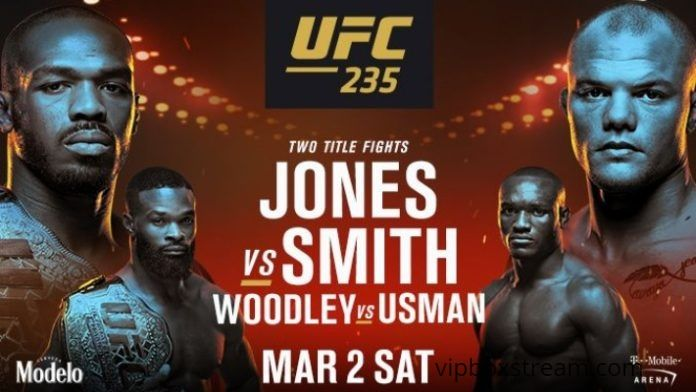 where can i stream ufc 235 free