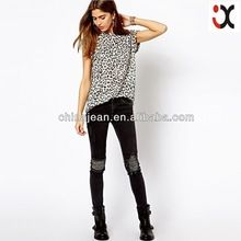 fashion women leopard print t shirts blank t shirts JXT14604  best seller follow this link http://shopingayo.space