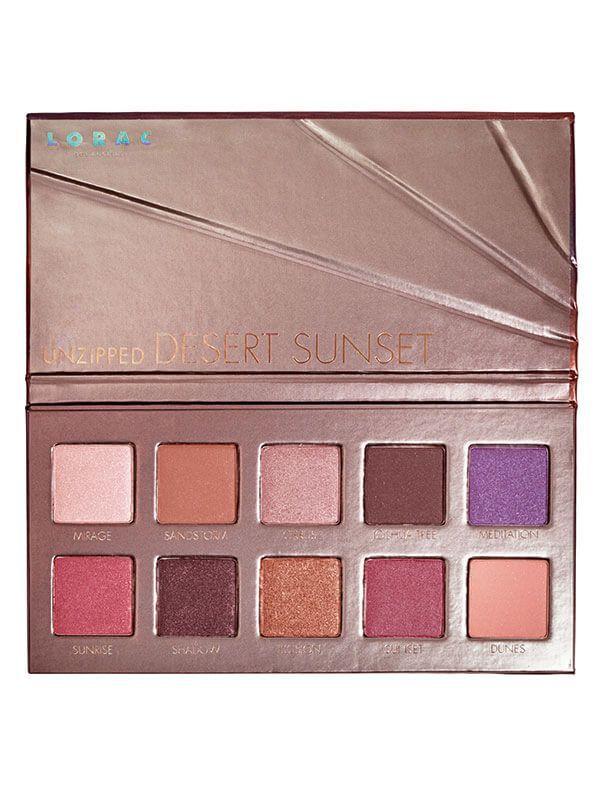 Unzipped™ Desert Sunset Eye Shadow Palette   LORAC Los Angeles