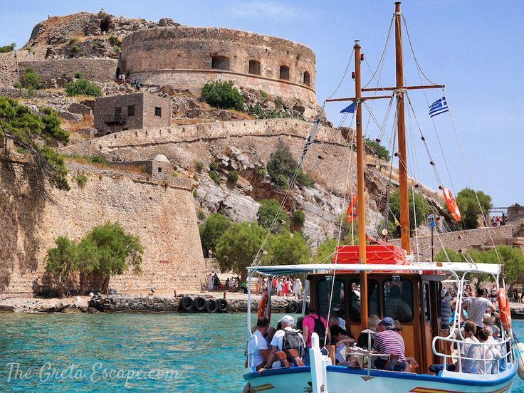Island of Spinalonga, Crete