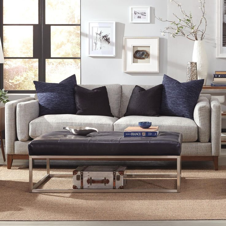 Kelsey Modern Estate Sofa with Bolster Arm Pillows and Exposed Wood Base Rail by Jonathan Louis | Exposed wood Furniture mattress and Mattress : kelsey sectional - Sectionals, Sofas & Couches