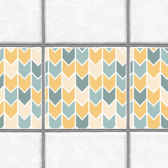 Les 25 meilleures id es concernant tuile chevron sur pinterest carrelage en - Carreaux autocollants cuisine ...