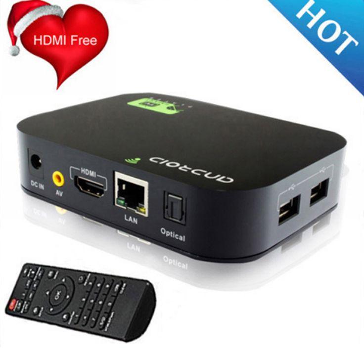 Nave libre + envío de La Gota Quad Core Android 4.4 Smart TV Box H.265 XBMC Media Player Blue Ray Reproductor de DISCO DURO 1080 P WIFI HDMI YOUTUBE