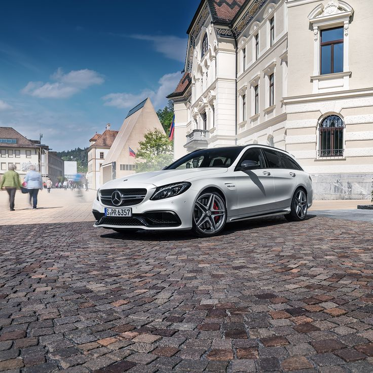 High-Performance Athlete: The Mercedes-AMG C 63 S Estate. Photo by Ranier Fernandez (www.fernandez-world.com) for #MBsocialcar [Mercedes-AMG C 63 S | Fuel consumption combined: 8.6–8.4 l/100km | combined CO₂ emissions: 200–196 g/km | http://mb4.me/efficiency_statement]