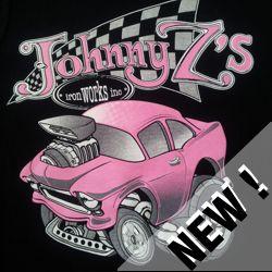 Kids New Design Pink Chev Short Sleeve Tshirt