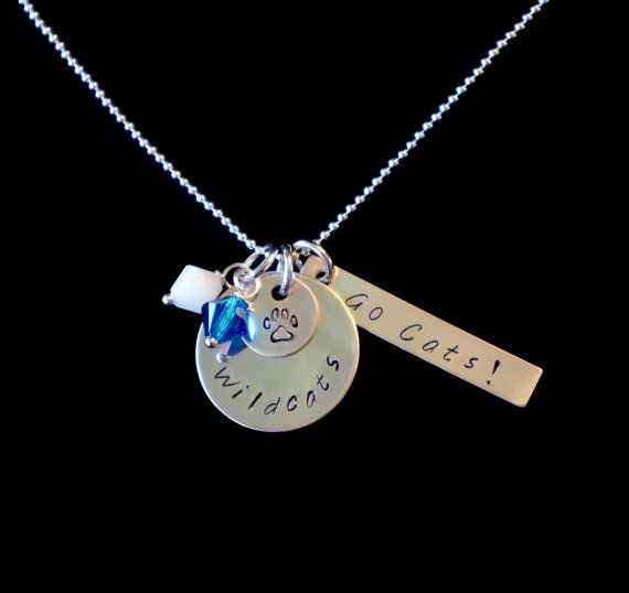 Wildcats University of Kentucky Jewelry UK by LynnsElegantDesigns, $35.00