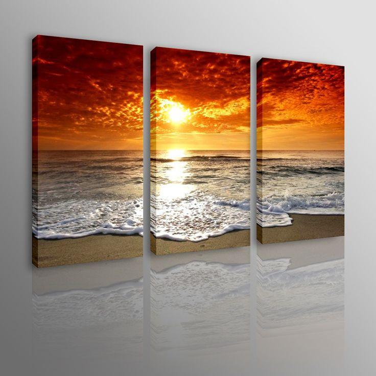 Oltre 25 fantastiche idee su dipinti tramonto su pinterest for Quadri dipinti a mano dipinti moderni idee arredamento