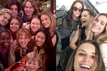 "The Cast Of ""The Baby-Sitters Club"" Movie Just Reunited And It's Glorious"